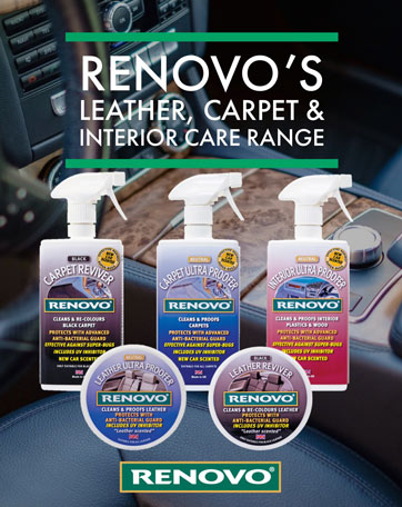 Renovo Interior Car Care Range