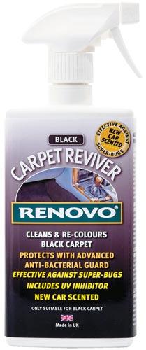 Renovo Carpet Reviver Application Instructions