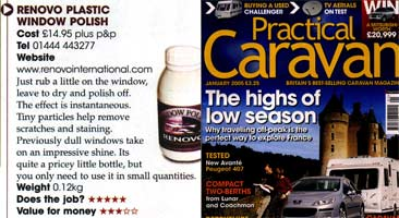 Practical Caravan Plastic Window Polish Review