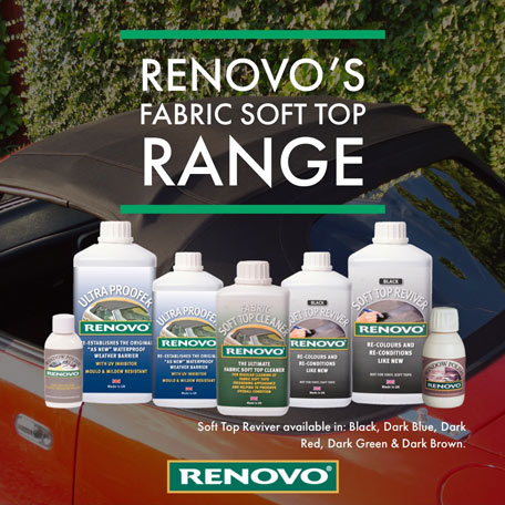 Renovo Soft Top Cleaning Range