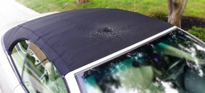 Waterprrof BMW 650i convertible top