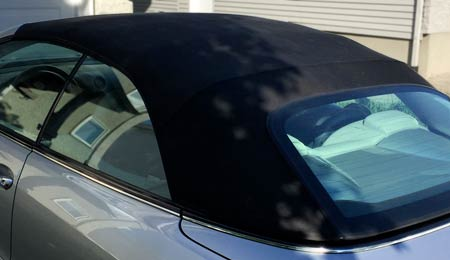 BMW roof after changing colour