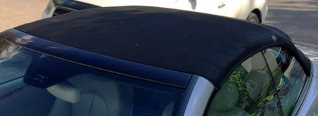 BMW soft top roof after changing colour